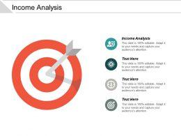 Income Analysis Ppt Powerpoint Presentation Portfolio Topics Cpb