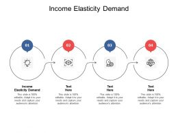 Income Elasticity Demand Ppt Powerpoint Presentation Portfolio Styles Cpb