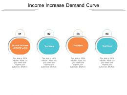 Income Increase Demand Curve Ppt Powerpoint Infographic Template Outline Cpb
