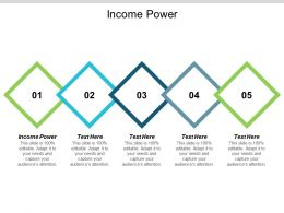 Income Power Ppt Powerpoint Presentation Portfolio Designs Cpb