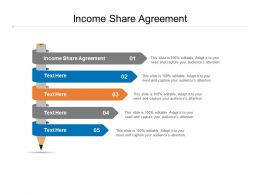 Income Share Agreement Ppt Powerpoint Presentation Layouts Guide Cpb