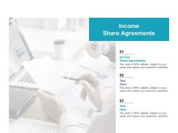 Income Share Agreements Ppt Powerpoint Presentation Portfolio Slide Portrait Cpb