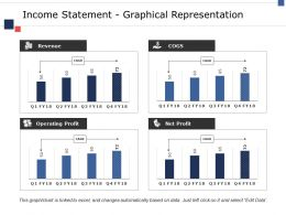 Income Statement Graphical Representation Ppt File Shapes
