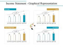 Income Statement Graphical Representation Ppt Icon