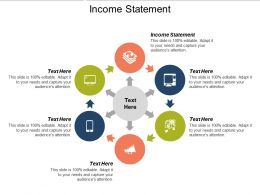 Income Statement Ppt Powerpoint Presentation Gallery Slide Portrait Cpb