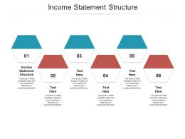Income Statement Structure Ppt Powerpoint Presentation Inspiration Mockup Cpb