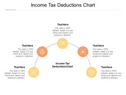 Income Tax Deductions Chart Ppt Powerpoint Presentation File Show Cpb