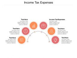 Income Tax Expenses Ppt Powerpoint Presentation Layouts Slide Download Cpb