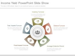 Income Yield Powerpoint Slide Show