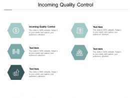 Incoming Quality Control Ppt Powerpoint Presentation File Layouts Cpb