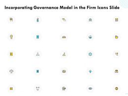 Incorporating Governance Model In The Firm Icons Slide Ppt Powerpoint Presentation Inspiration Smartart