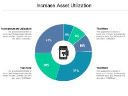 Increase Asset Utilization Ppt Powerpoint Presentation Ideas Themes Cpb