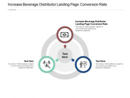 Increase Beverage Distributor Landing Page Conversion Rate Ppt Powerpoint Presentation Show Cpb