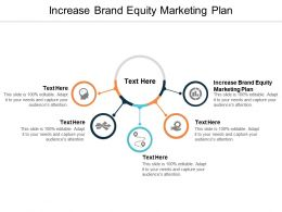 Increase Brand Equity Marketing Plan Ppt Powerpoint Presentation Model Images Cpb