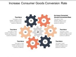 Increase Consumer Goods Conversion Rate Ppt Powerpoint Presentation Gallery Show Cpb