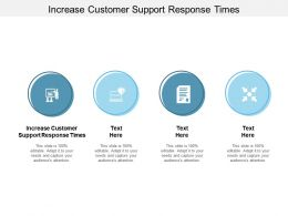 Increase Customer Support Response Times Ppt Powerpoint Presentation Example Cpb
