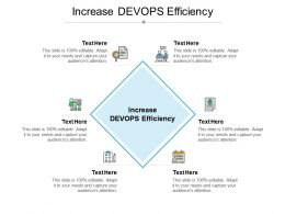 Increase DEVOPS Efficiency Ppt Powerpoint Presentation File Background Images Cpb