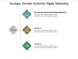Increase Domain Authority Digital Marketing Ppt Powerpoint Presentation Summary Example Cpb
