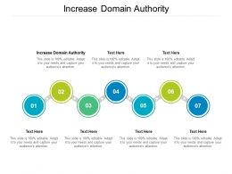 Increase Domain Authority Ppt Powerpoint Presentation Inspiration Vector Cpb