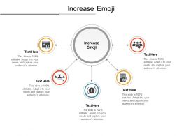 Increase Emoji Ppt Powerpoint Presentation Layouts Vector Cpb