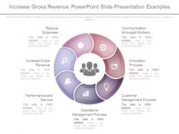 Increase Gross Revenue Powerpoint Slides Presentation Examples