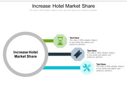 Increase Hotel Market Share Ppt Powerpoint Presentation Slides Display Cpb
