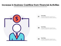 Increase In Business Cashflow From Financial Activities