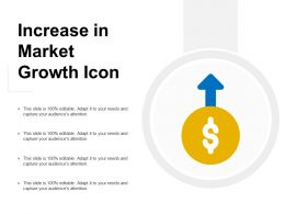 Increase In Market Growth Icon