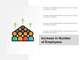 Increase In Number Of Employees