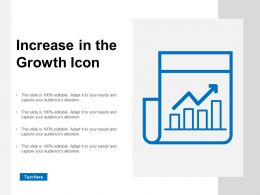Increase In The Growth Icon