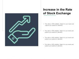 Increase In The Rate Of Stock Exchange