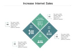 Increase Internet Sales Ppt Powerpoint Presentation Inspiration Layout Cpb