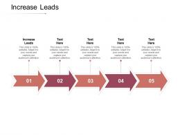 Increase Leads Ppt Powerpoint Presentation Infographic Template Ideas Cpb