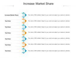 Increase Market Share Ppt Powerpoint Presentation Ideas Sample Cpb
