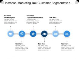 Increase Marketing Roi Customer Segmentation Criteria B2b Group Buying Cpb