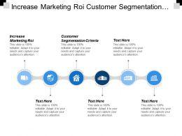 Increase Marketing Roi Customer Segmentation Criteria B2b Group Buying Cpb