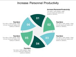 Increase Personnel Productivity Ppt Powerpoint Presentation Styles Microsoft Cpb