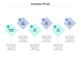 Increase Prices Ppt Powerpoint Presentation Show Summary Cpb