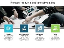 Increase Product Sales Innovative Sales Techniques Automated Bid Cpb