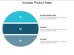 Increase Product Sales Ppt Powerpoint Presentation Ideas Portrait Cpb