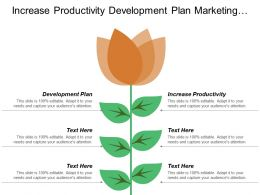 Increase Productivity Development Plan Marketing Solutions Conference Room