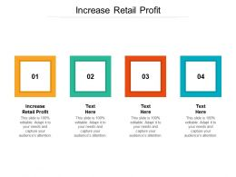 Increase Retail Profit Ppt Powerpoint Presentation Model Design Ideas Cpb