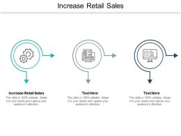 Increase Retail Sales Ppt Powerpoint Presentation Icon Clipart Cpb