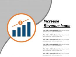 Increase Revenue Icons Powerpoint Images