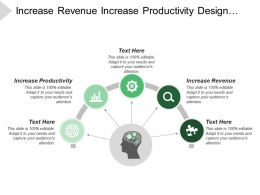 Increase Revenue Increase Productivity Design Data Access Rules