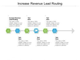 Increase Revenue Lead Routing Ppt Powerpoint Presentation Icon Backgrounds Cpb
