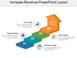 Increase Revenue Powerpoint Layout
