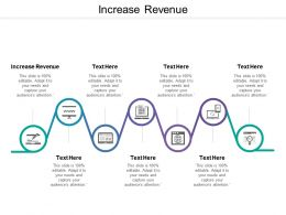 Increase Revenue Ppt Powerpoint Presentation Pictures Display Cpb