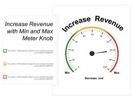Increase Revenue With Min And Max Meter Knob