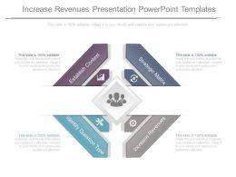 Increase Revenues Presentation Powerpoint Templates